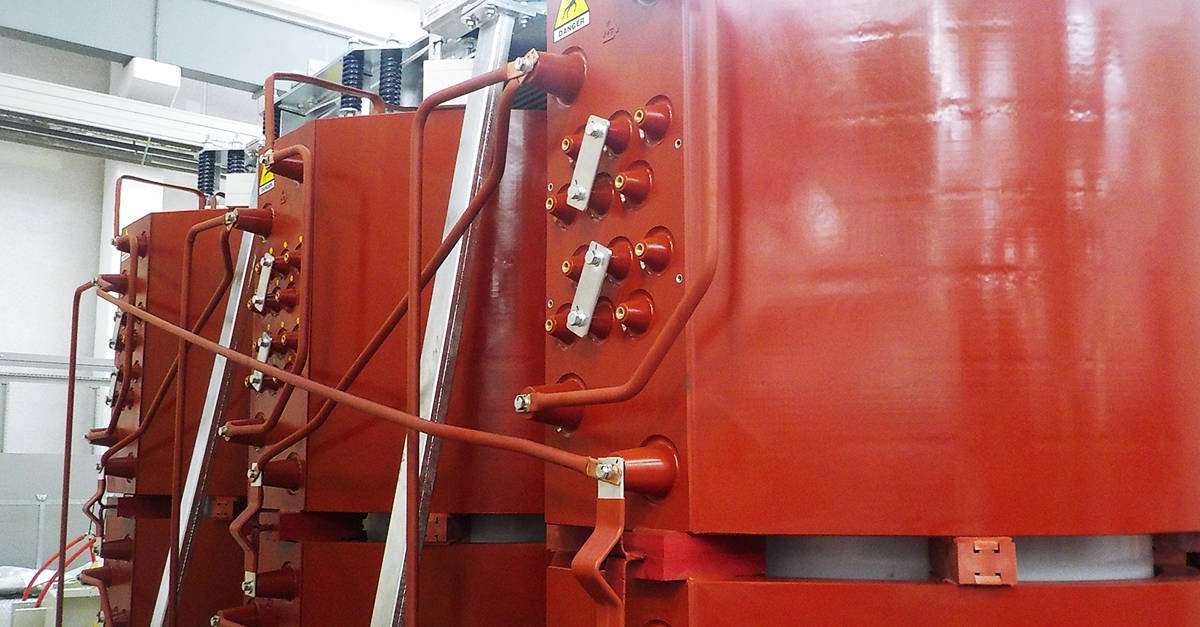 Cast resin transformer for Chiasso substation