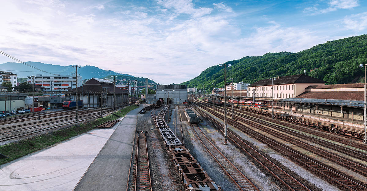 Chiasso trainstation