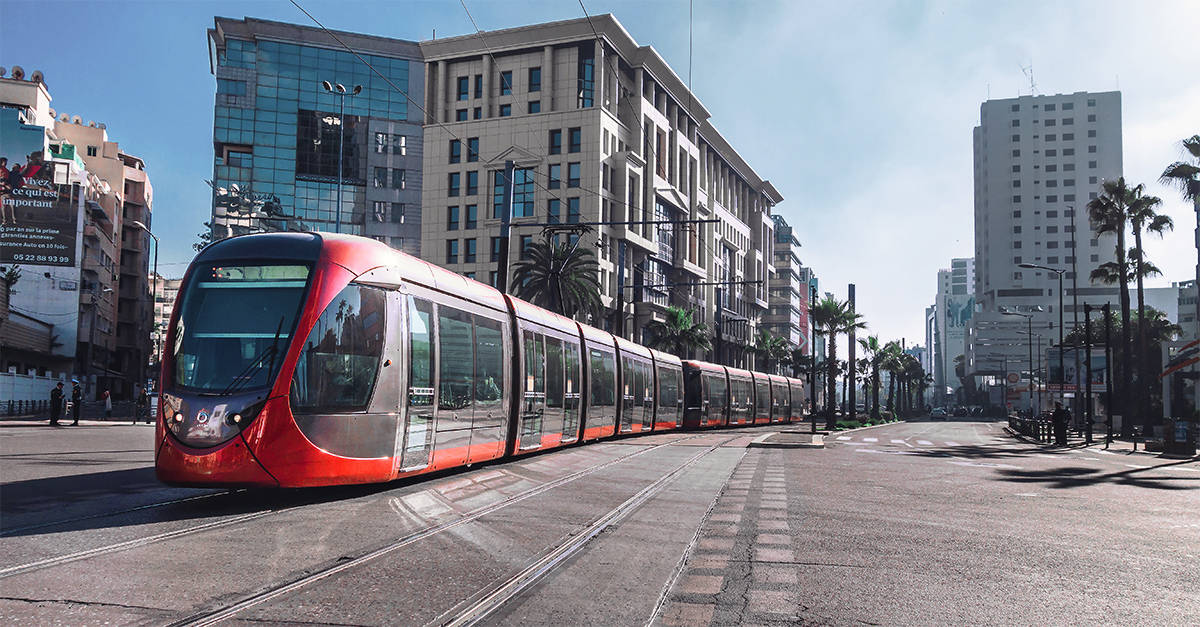 Tramway in Casablanca