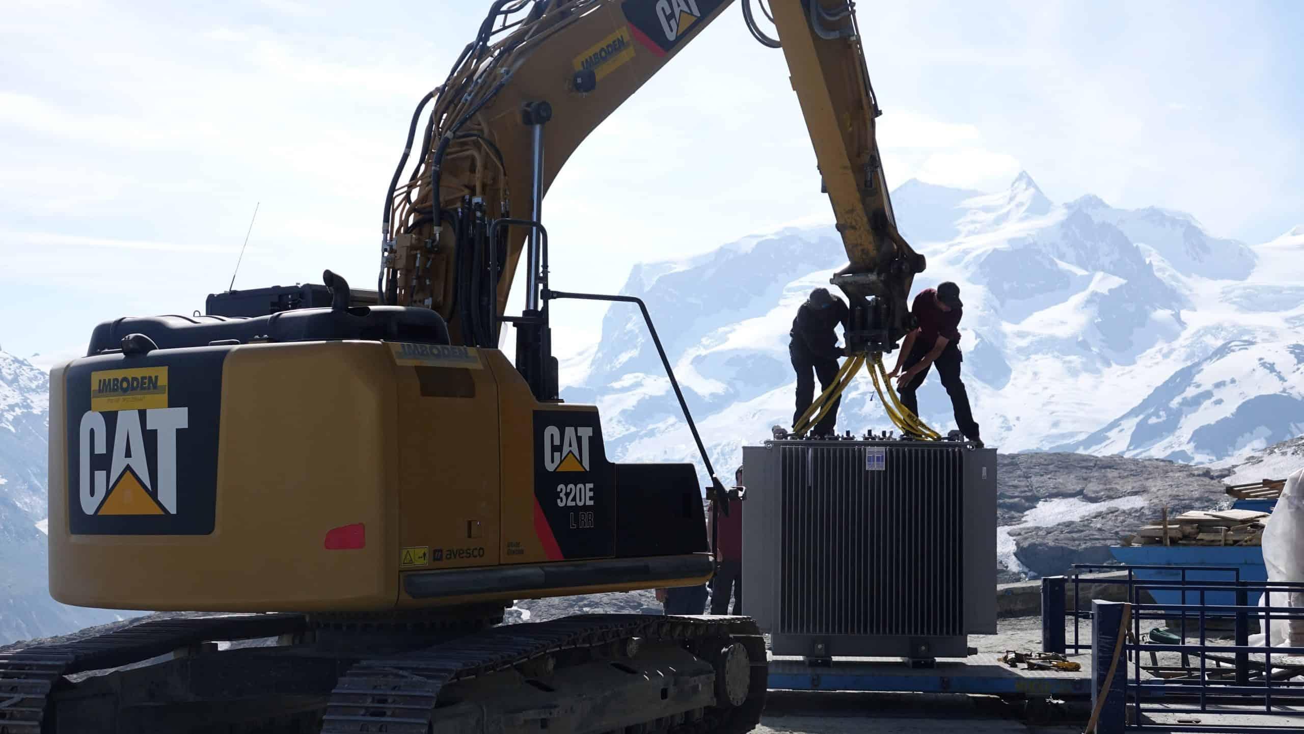 Transformer delivery for Matterhorn region Switzerland