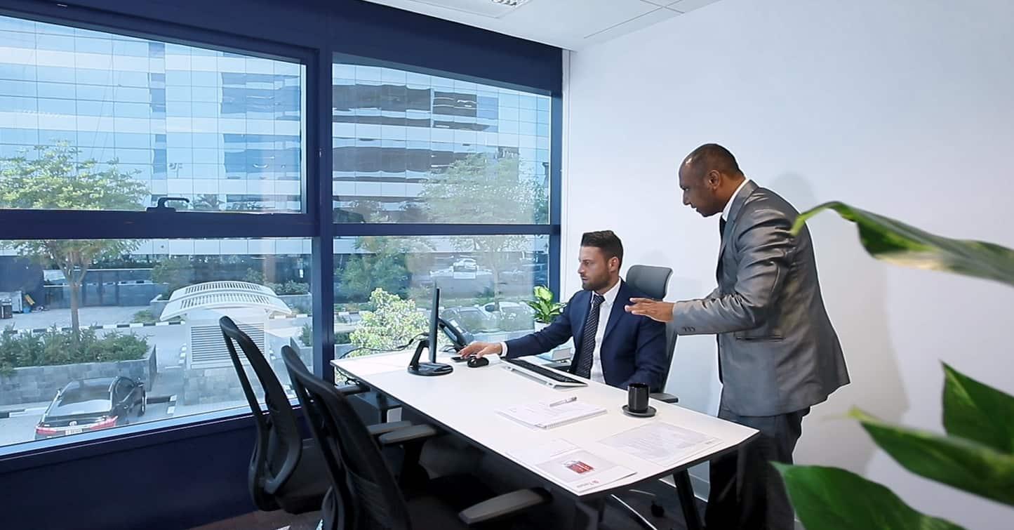 New office meeting room Dubai