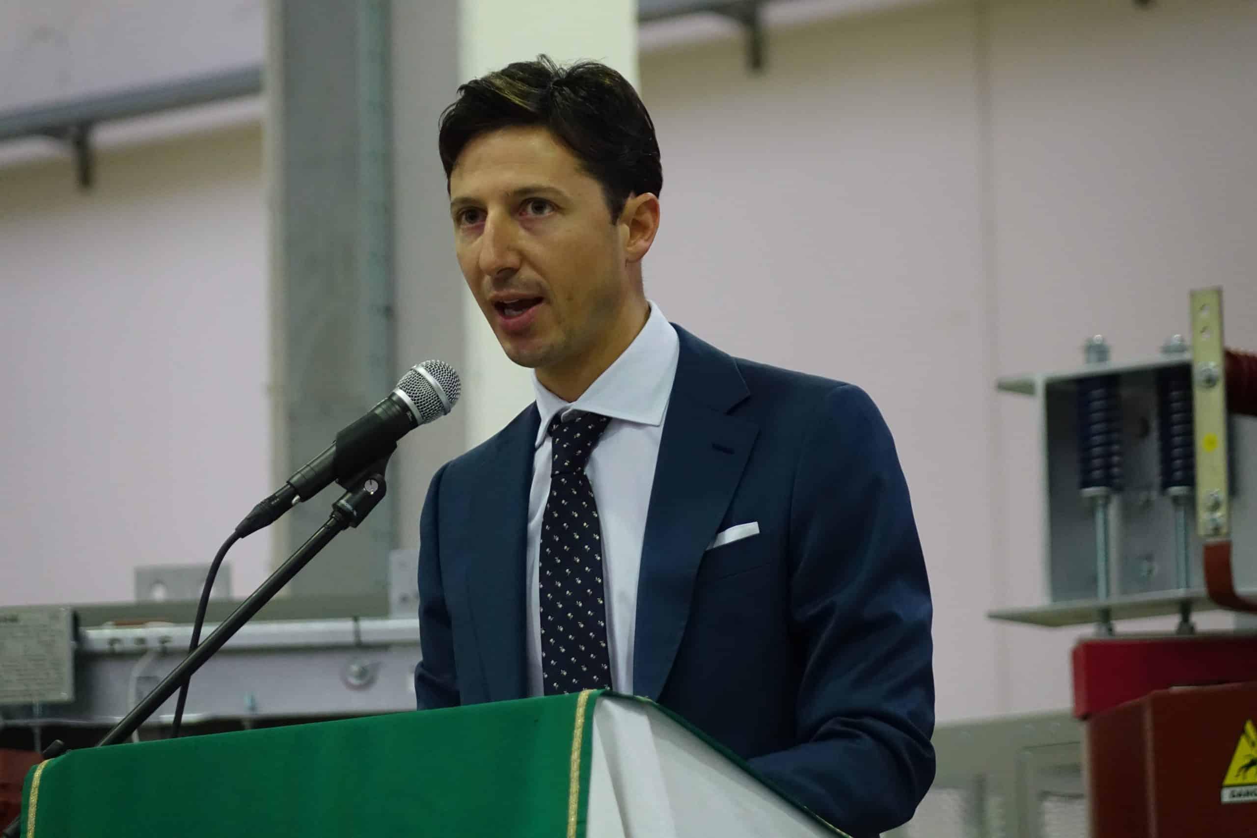 Matteo Angiolini speaks at Holy Mass Tesar