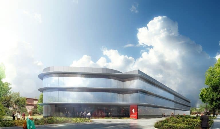 Ferrari Automotive logistics centre