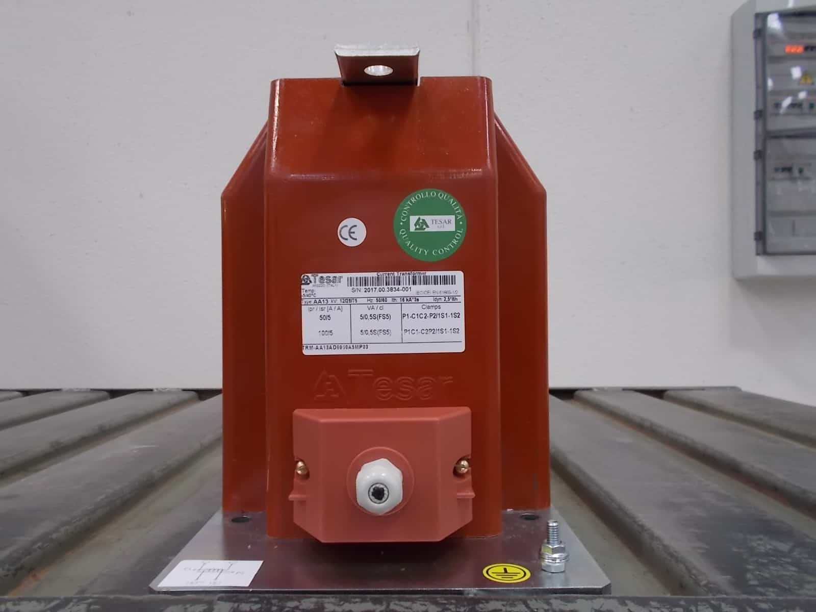 Current transformer for EDP