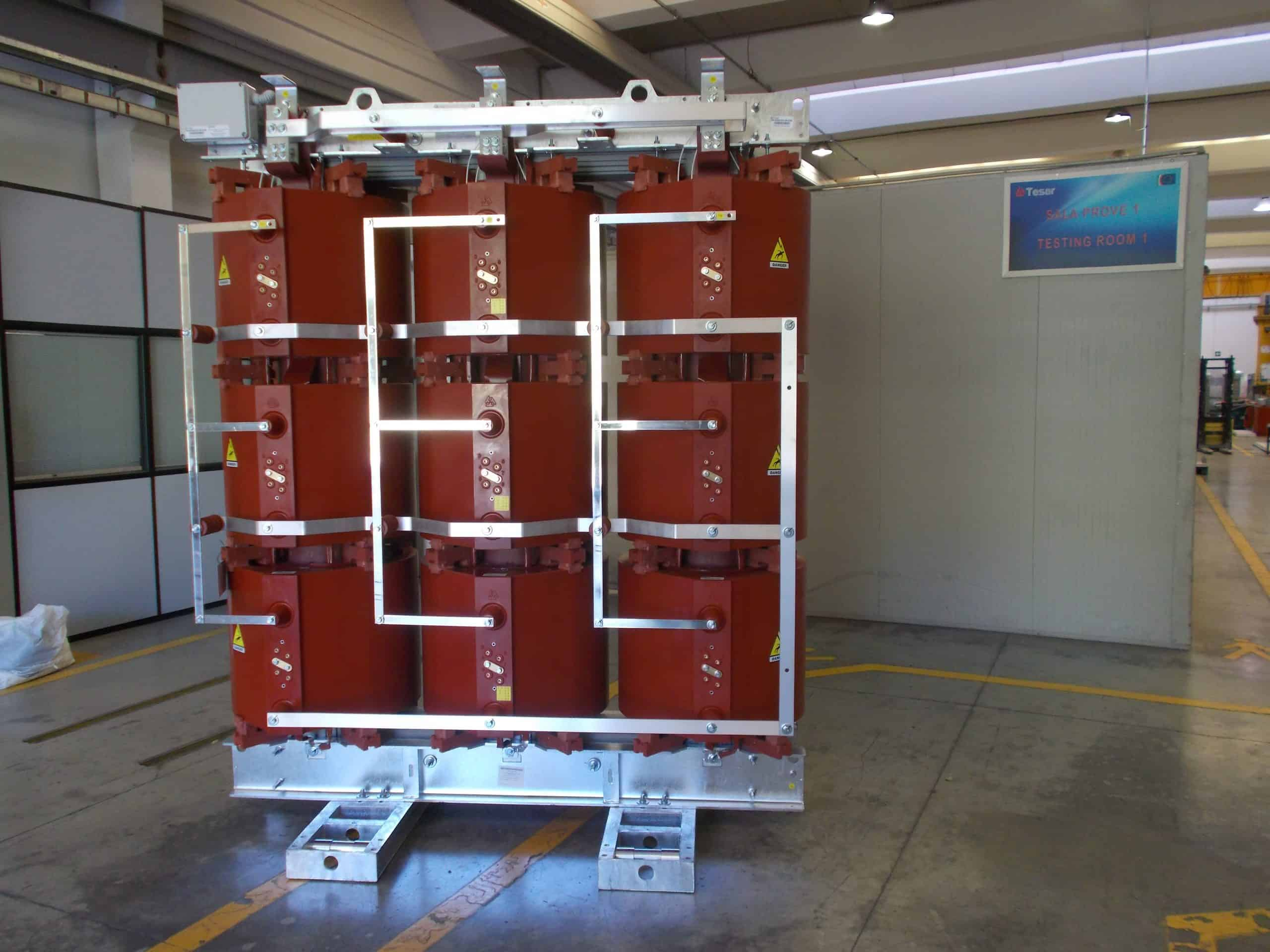 Dry type transformers at Tesar Italy