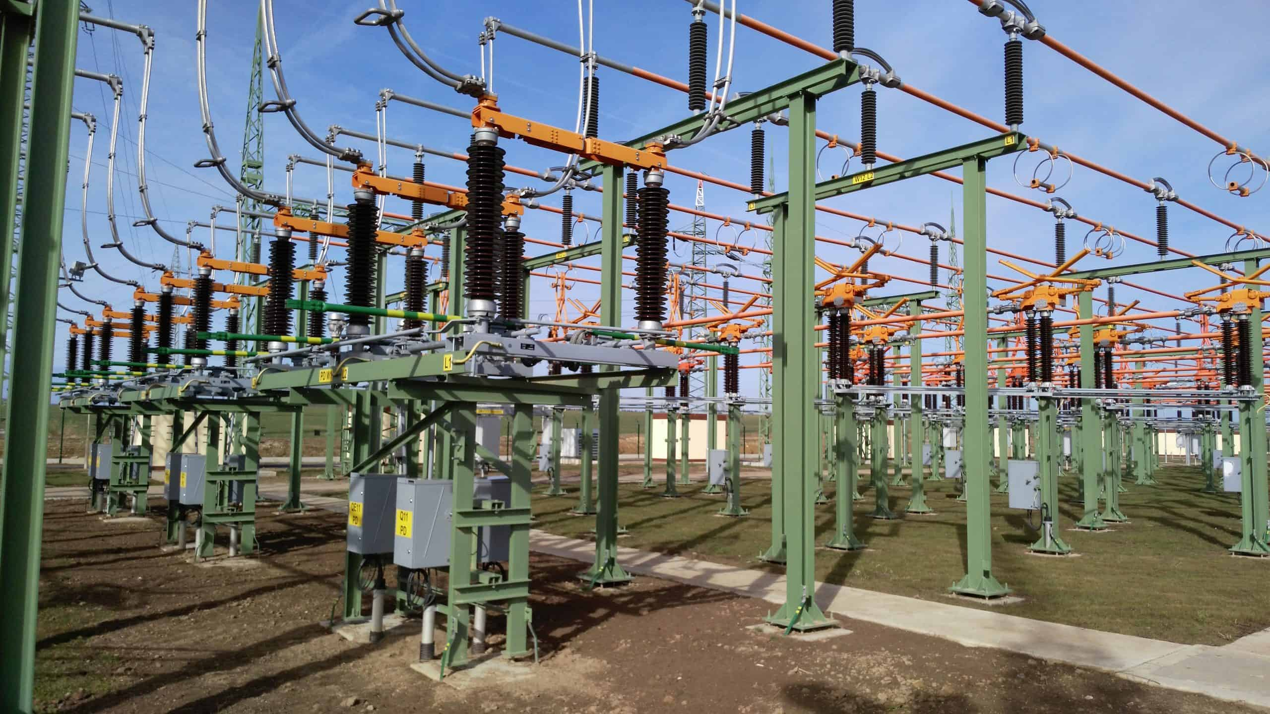 high voltage disconnectors for substation