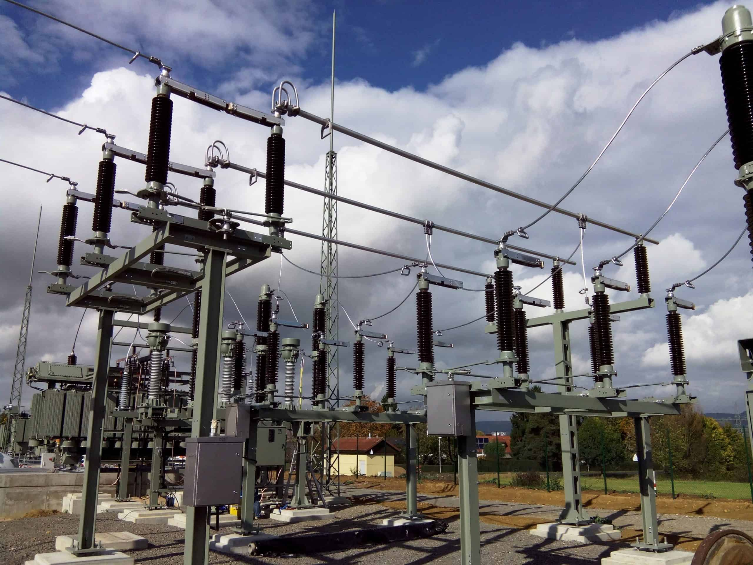 High voltage switches from ZREW at substation