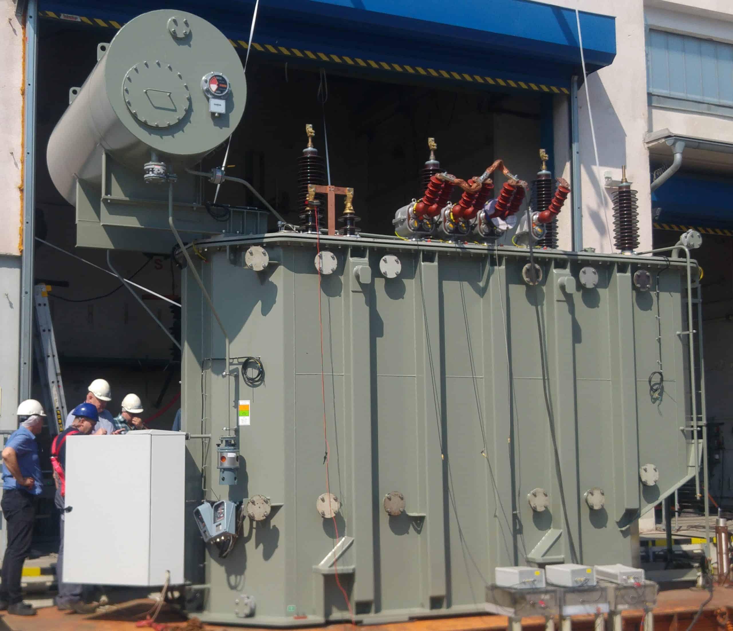 Power transformer KEMA certificate