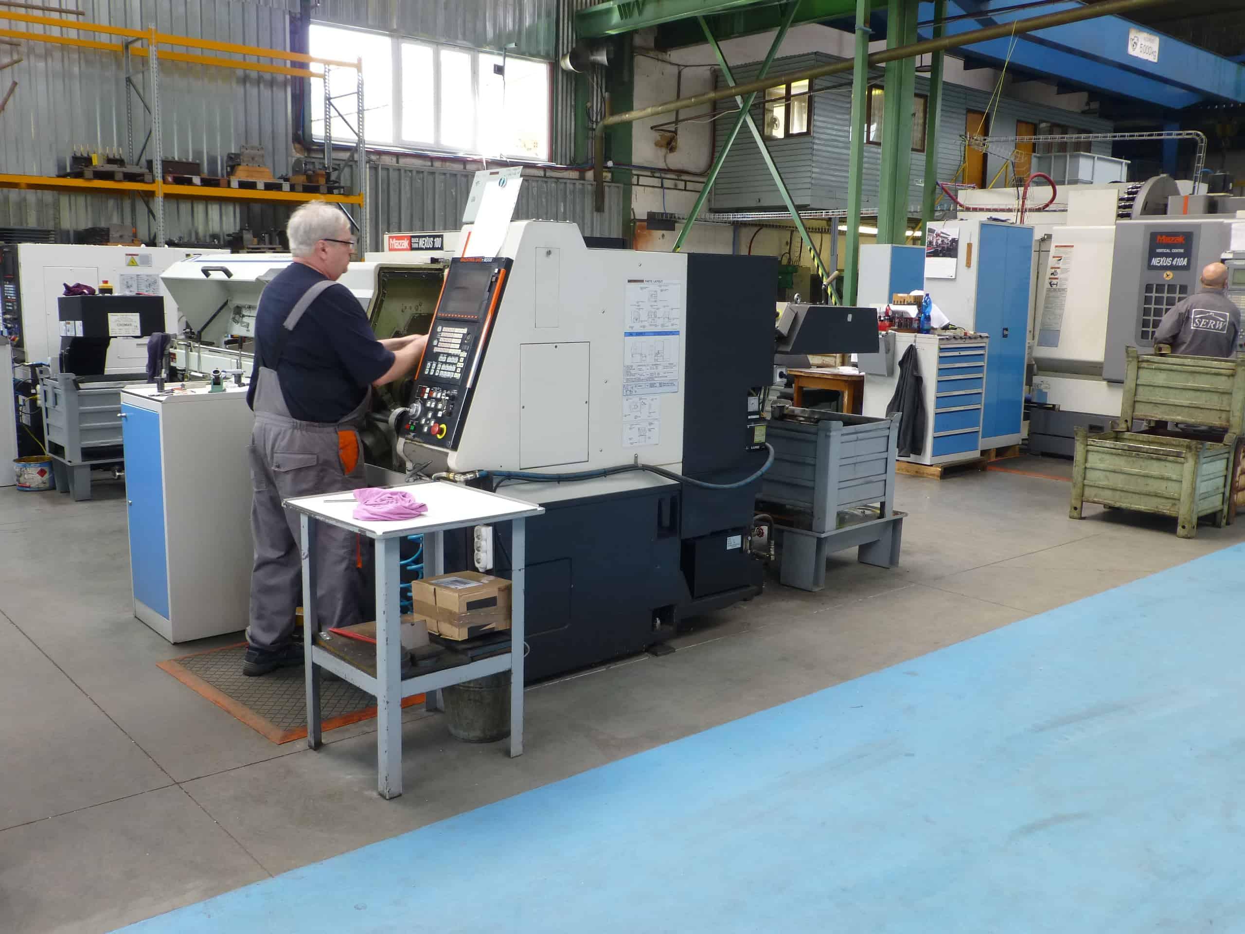 SERW production in Czech Republic