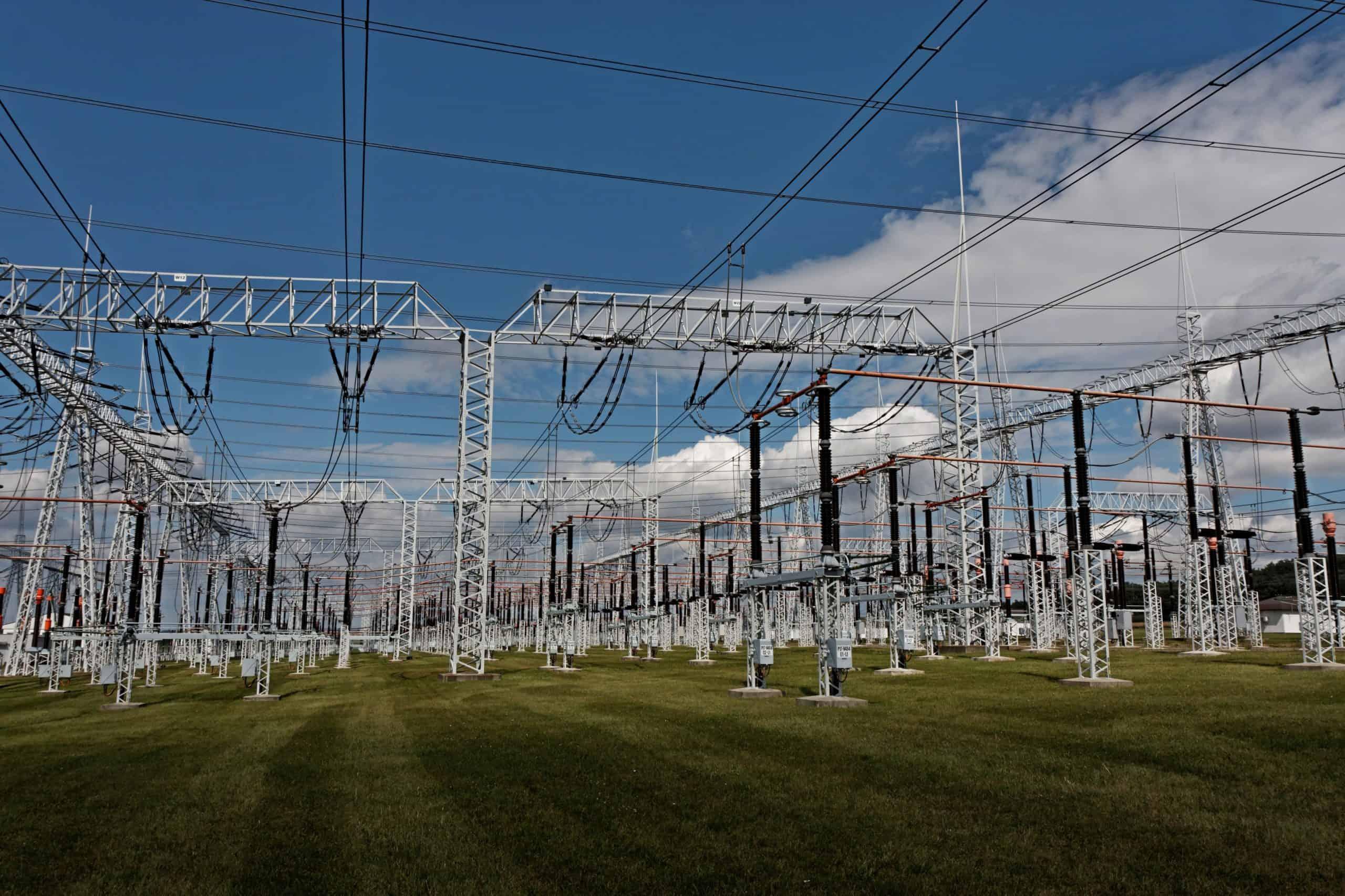 Substation in Czech Republic