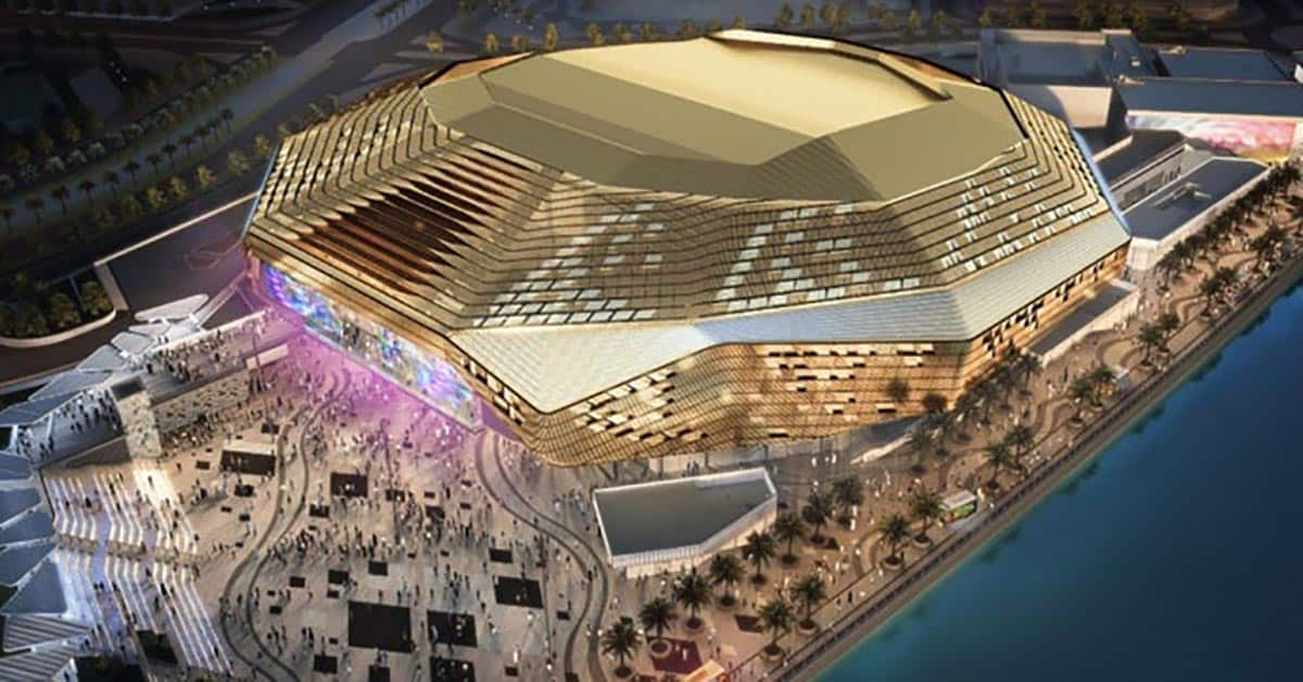 Transformers for Yas Bay Arena in Abu Dhabi