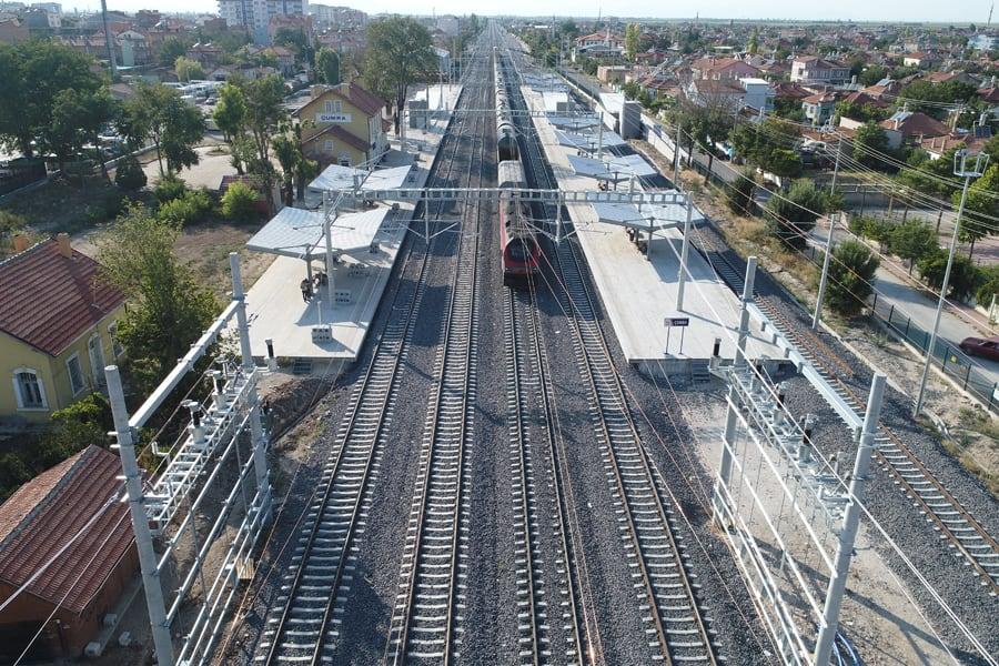Yapi Merkezi railway electrification